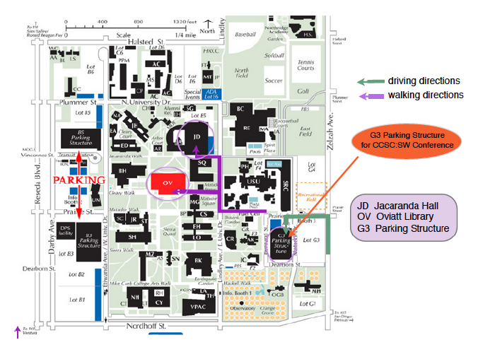 Ccsc Sw 2014 Lodging And Directions