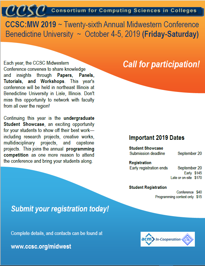 Call For Participation Poster